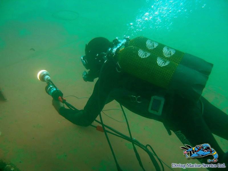 Подводное телевидение (CCTV)