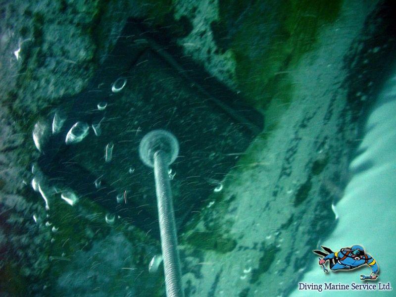 Бездоковое устранение водотечности в подводной части корпусов судов