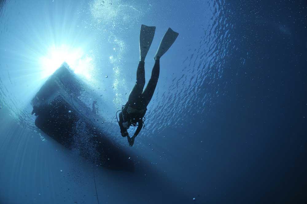 Подводные водолазные работы